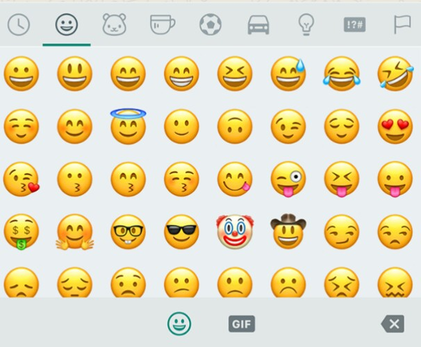 Facepalm, Shrug) WhatsApp adds plenty of new emojis from Android 7 1